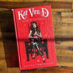 Autographed Tattoo Chronicles Kat Von D